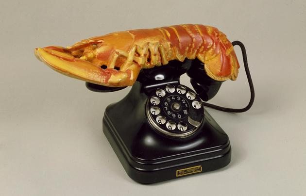 Salvador Dalí, Téléphone-homard (Lobster Telephone), 1938