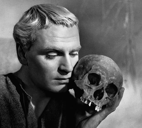 Olivier as Hamlet