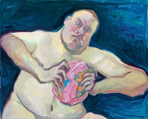 The World Destroyer by Maria Lassnig