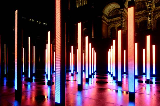United Visual Artists, Volume; One Point Six, V&A