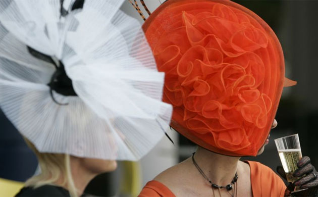 Ladies Day at Royal Ascot: Thoroughly modern millinery | Life and style | guardian.co.uk from guardian.co.uk