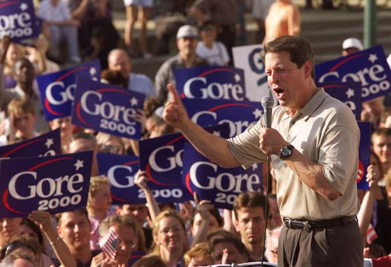 george w bush vs al gore essay The speeches delivered by al gore and george w bush at the conclusion of the   electorates and consumers to believe that they have made a free achoice,@.