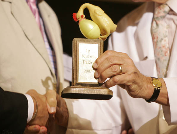 Ig Nobel prize 2007