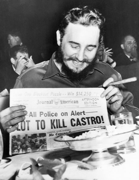 New York : Laughing off reports of an assasination plot in 1959