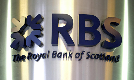 RBS logo. Photo courtesy of The Guardian