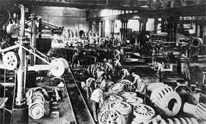 Krupp munitions factory in Essen