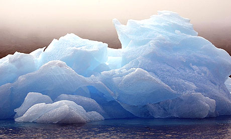 An iceberg off Ammassalik island, Greenland