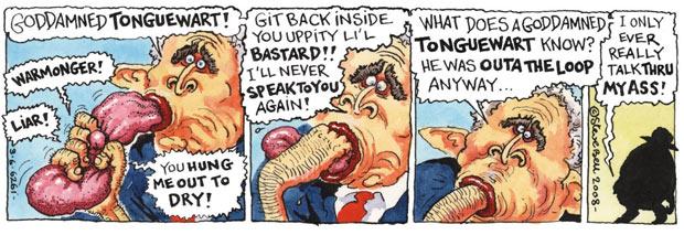 Goddamned tonguewart!