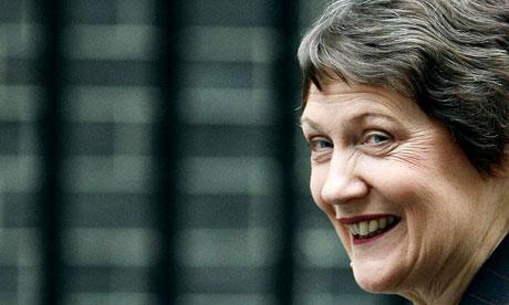 New Zealand's prime minister Helen Clark