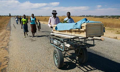 Widespread population movement among hungry Zimbabweans signals the threat of famine as land distribution and hyperinflation cause chronic food shortages