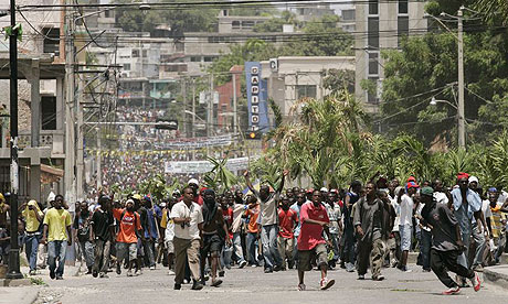 Haiti food riots