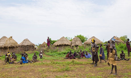 MDG : Human rights abuses in Ethiopia : Mursi tribe, Mago National Park, Ethiopia