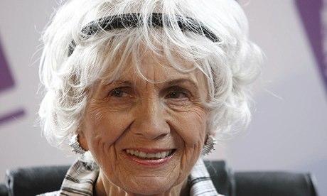 Nobel literature prize winner Alice Munro