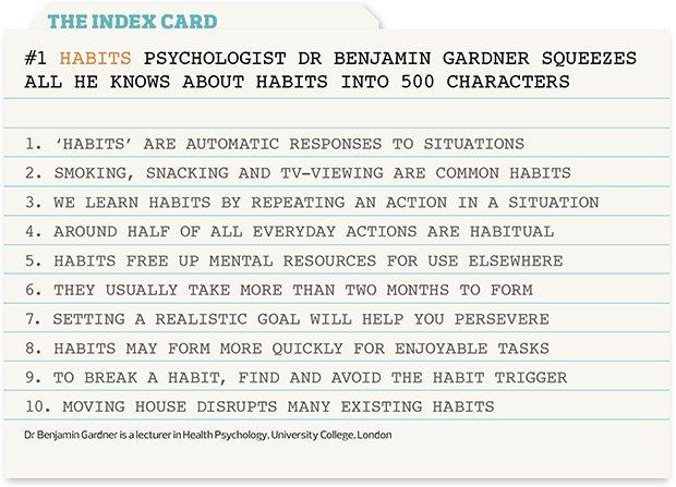 OTM index card - habits