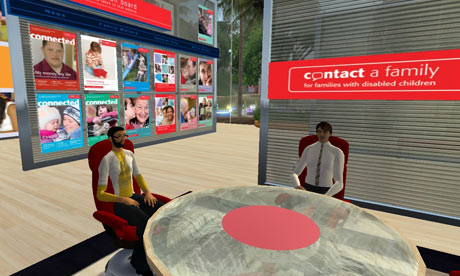 Contact a Family in Second Life